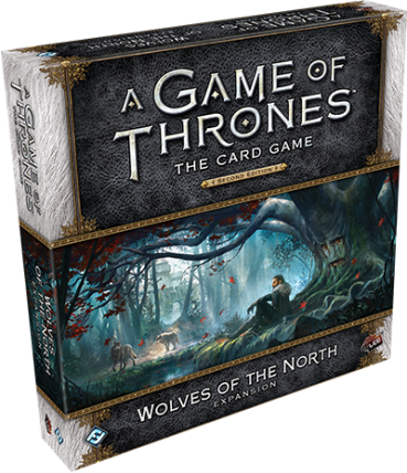 A Game of Thrones LCG Wolves of the North Deluxe Expansion