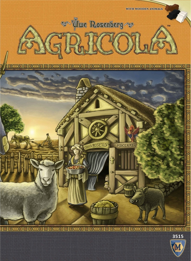 Agricola (2016 Editie revizuita) Advanced level EN