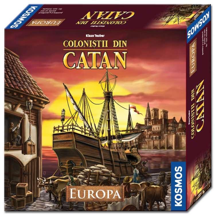 Colonistii din Catan - Europa