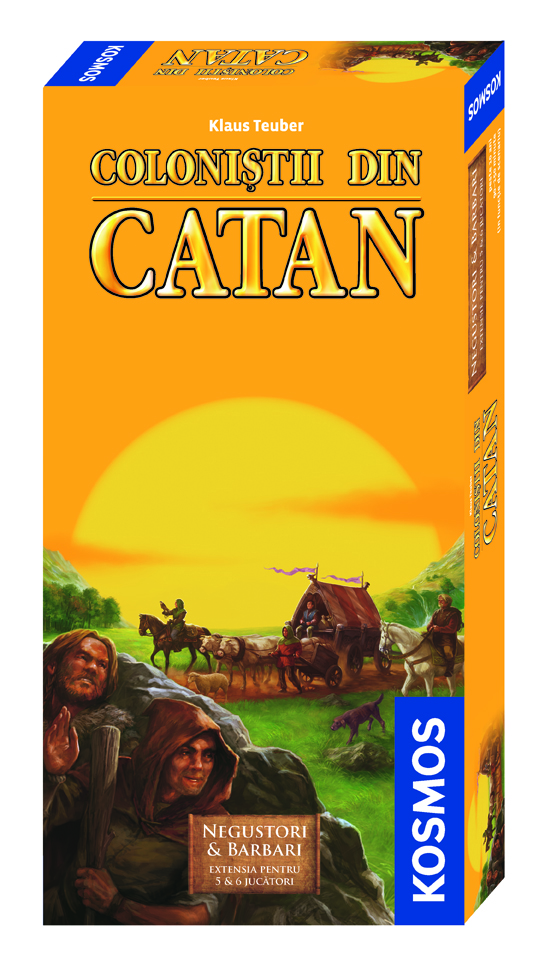 Colonistii din Catan - ext 5-6 Negustori si Barbari