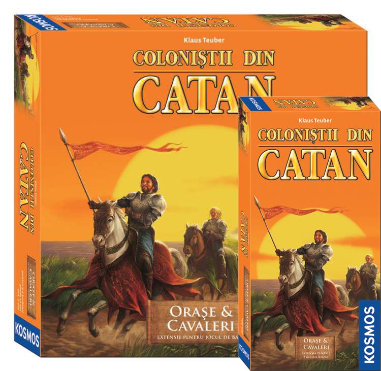 Colonistii din Catan - Ext Orase si Cavaleri + Ext 5/6