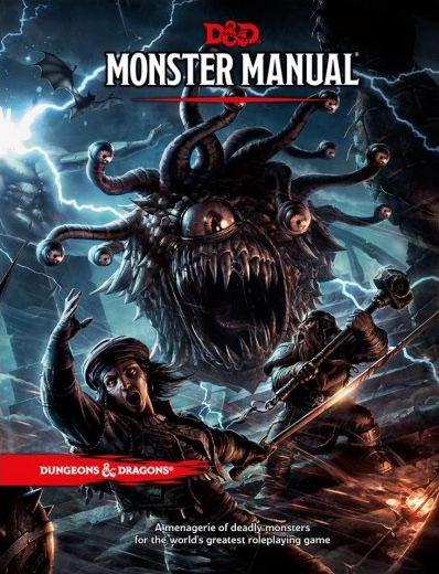 Dungeon & Dragons Monster manual