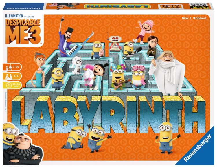 Labyrinth - Despicable Me 3
