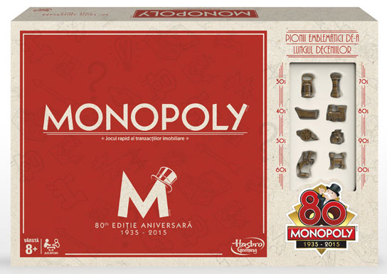 Monopoly 80th Anniversary