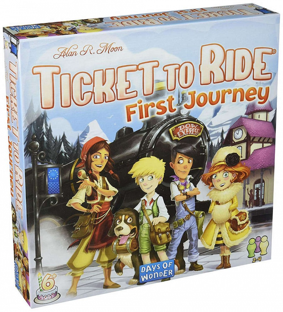 Ticket to Ride - First Journey ed. noua ed. EN