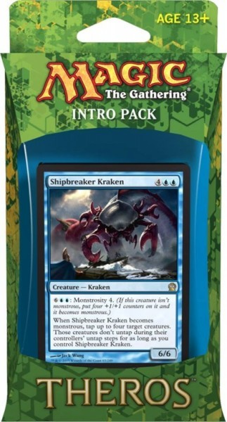 Magic the Gathering - Theros Intro Pack Blue