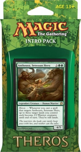 Magic the Gathering - Theros Intro Pack Green