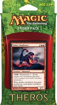 Magic the Gathering - Theros Intro Pack Red