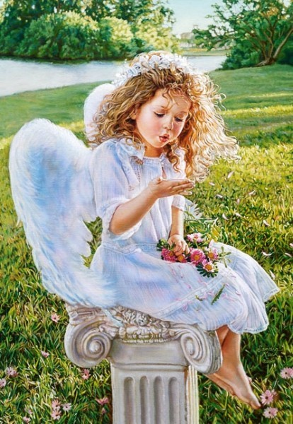 Puzzle 1000 piese copie a Angel Whispers