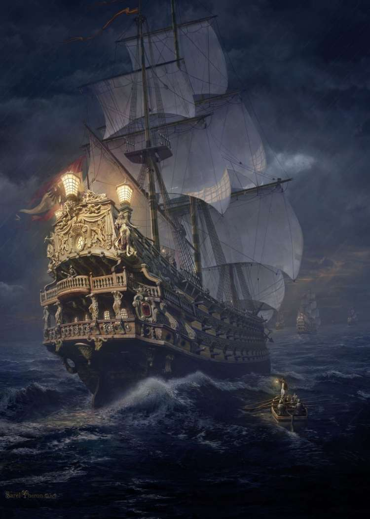 Puzzle 1000 piese On The High Seas