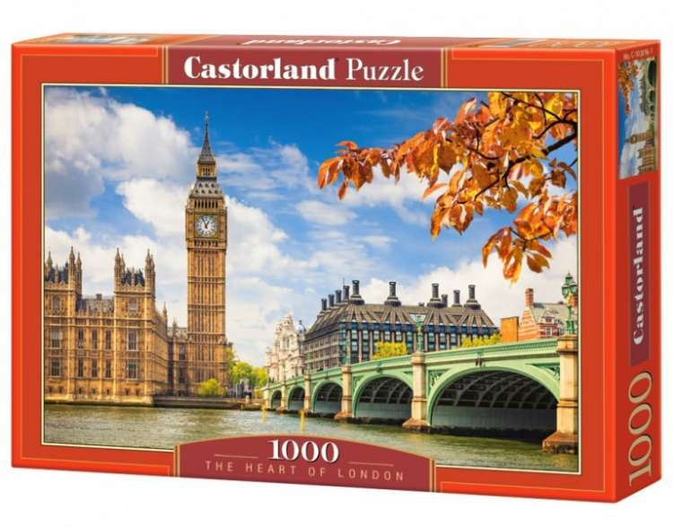 Puzzle 1000 piese The Heart of London