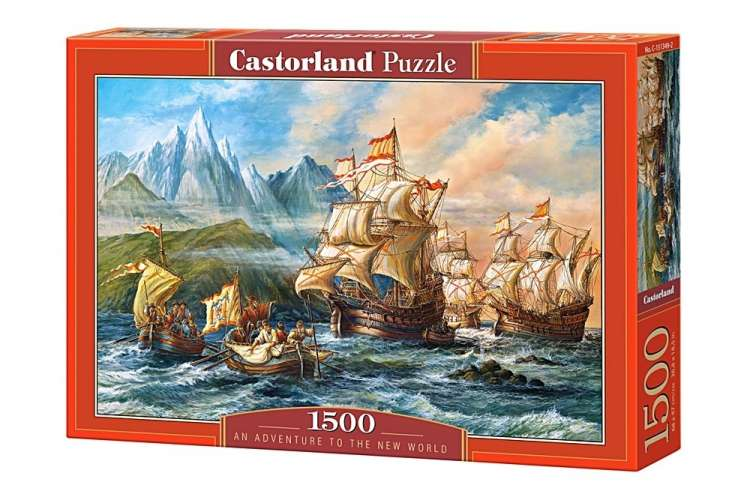Puzzle 1500 piese An Adventure to the New World