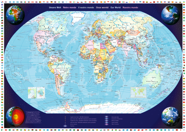 Puzzle 2000 piese Our World