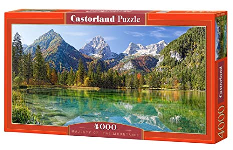 Puzzle 4000 piese Majesty of the mountains