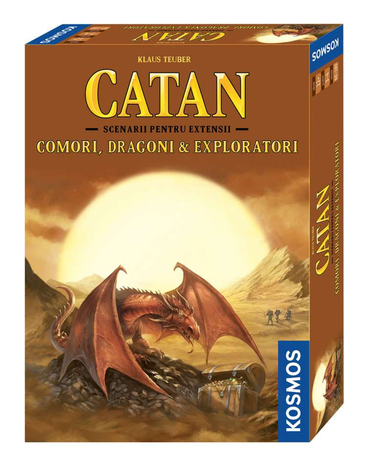 Catan - Comori  Dragoni & Exploratori