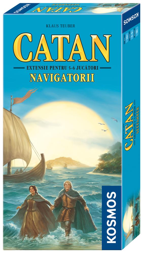 Catan - ext 5-6 Navigatorii