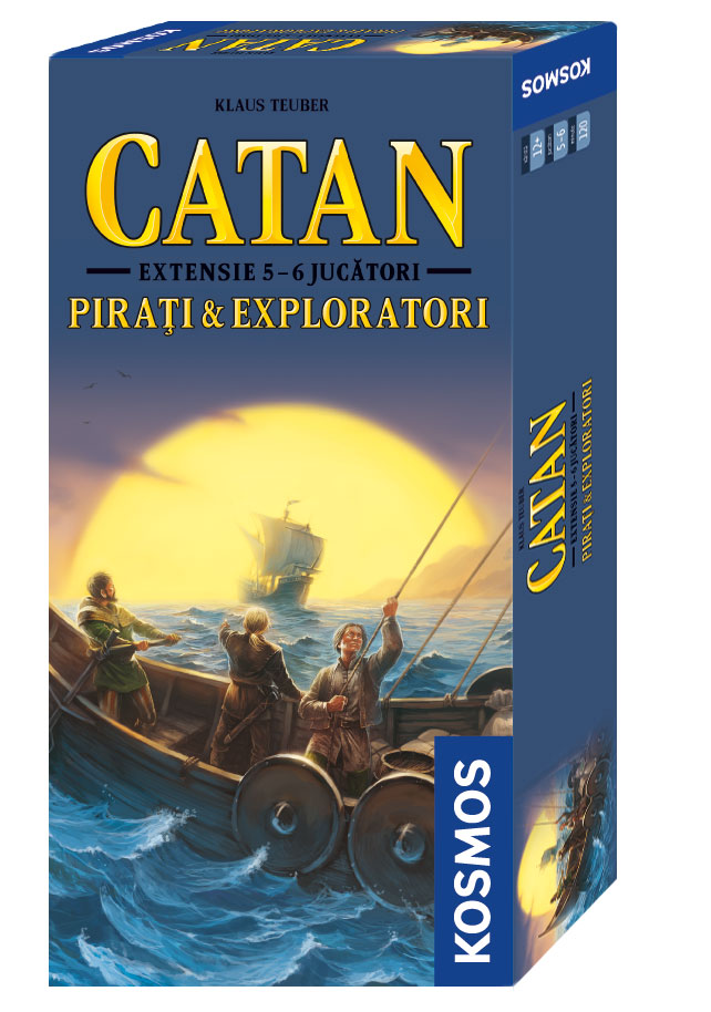 Catan - ext 5/6 Pirati si Exploratori