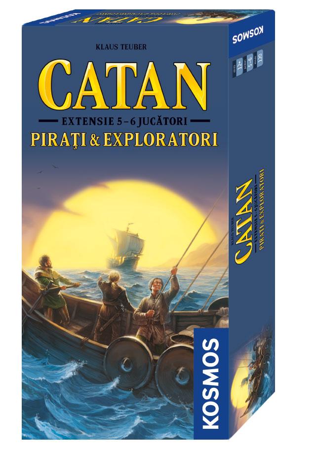 Catan - ext 5/6 Pirati si Exploratori