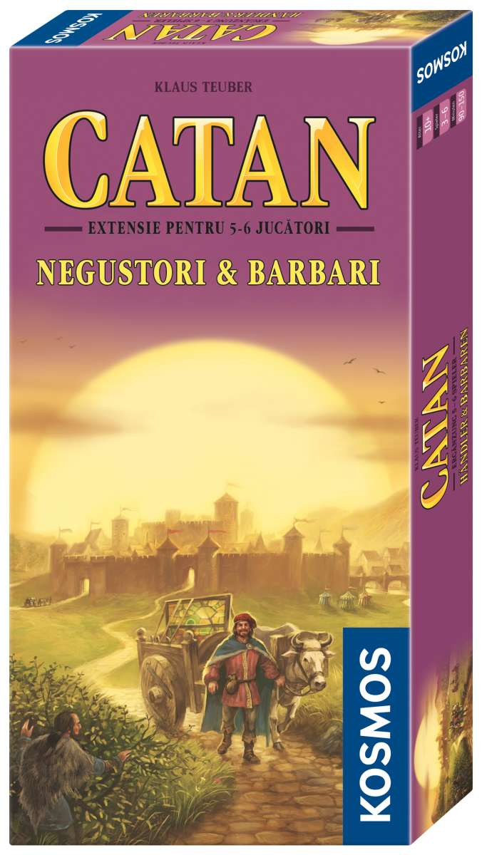 Catan Extensie 5-6 jucatori Negustori si Barbari