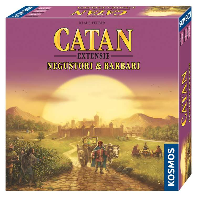Catan Extensie Negustori si Barbari 3-4 jucatori