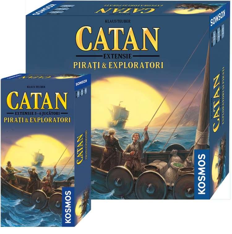 Catan - Extensie Pirati si Exploratori + Ext. 5/6 Pirati si Exploratori