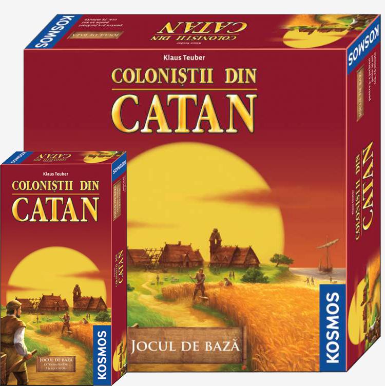 Colonistii din Catan + Ex. 5/6 jucatori - pachet