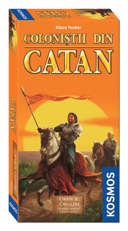 Colonistii din Catan - ext 5-6 Orase&Cavaleri