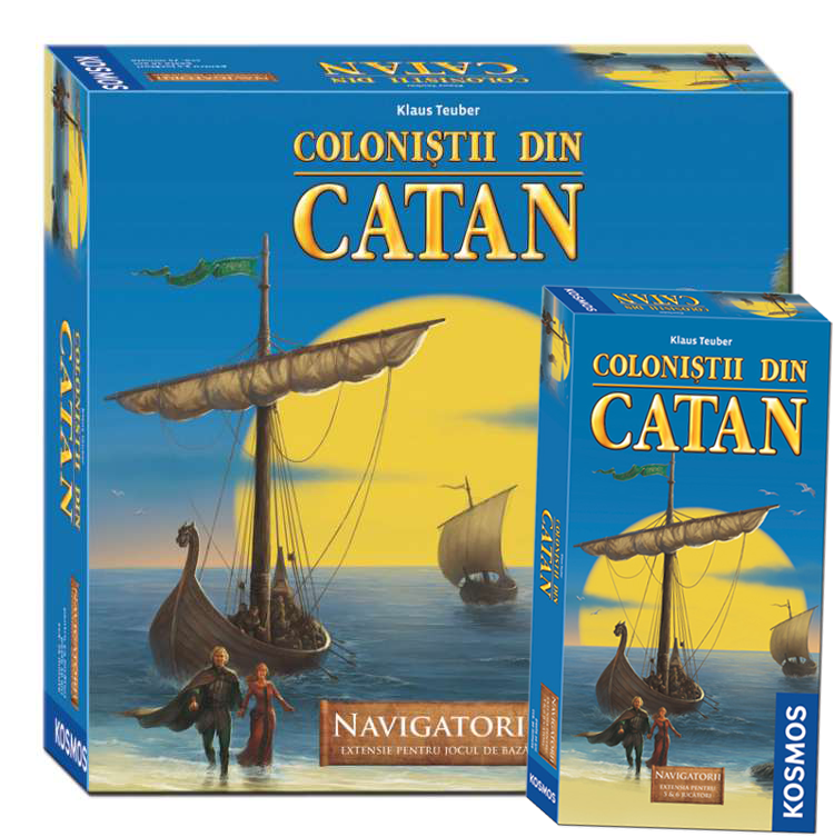 Colonistii din Catan - Extensie Navigatorii + Ext. 5/6 Navigatorii