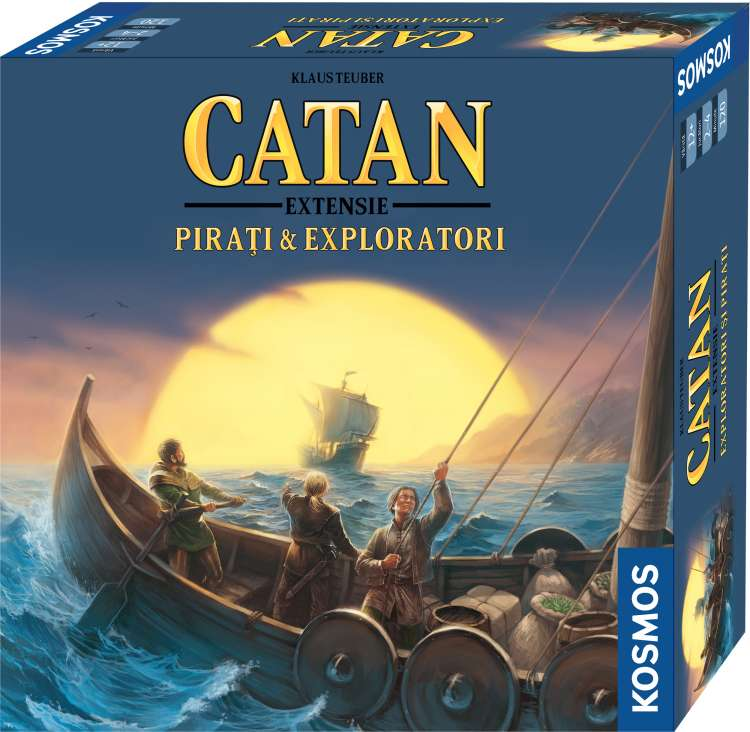 Catan - Pirati si Exploratori