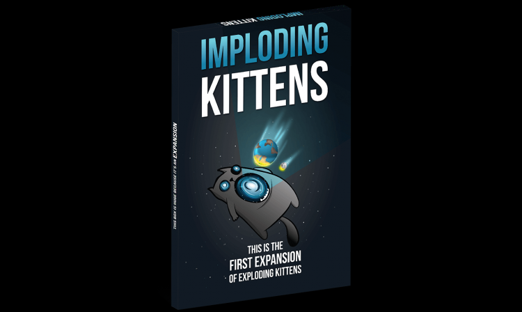 Exploding Kittens Exp Imploding Kittens