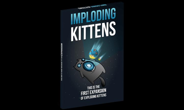 Exploding Kittens Exp Imploding Kittens
