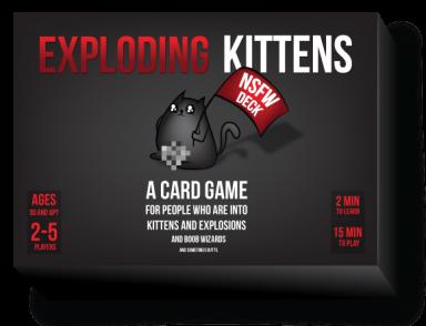 Exploding Kittens NSFW Deck EN