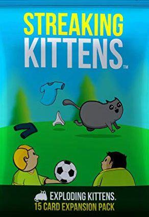 Exploding Kittens -  Streaking Kittens Exp EN