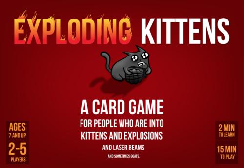 Exploding Kittens EN