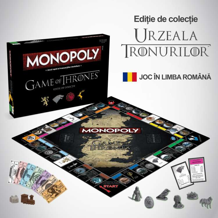 Monopoly Game of Thrones ed ro
