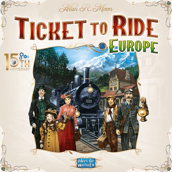 Ticket to Ride - Europe – 15th Anniversary