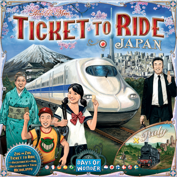 Ticket to Ride - Japan & Italy exp 7