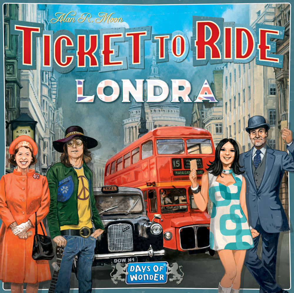 Ticket to Ride - Londra ed. RO