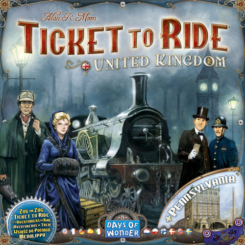 Ticket to Ride – UK + Pennsylvania