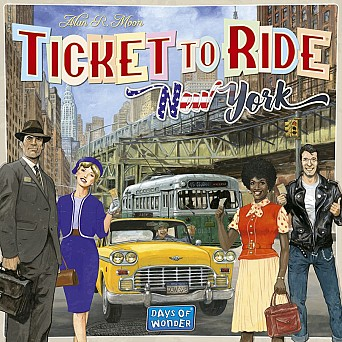 Ticket to ride - New York ed EN